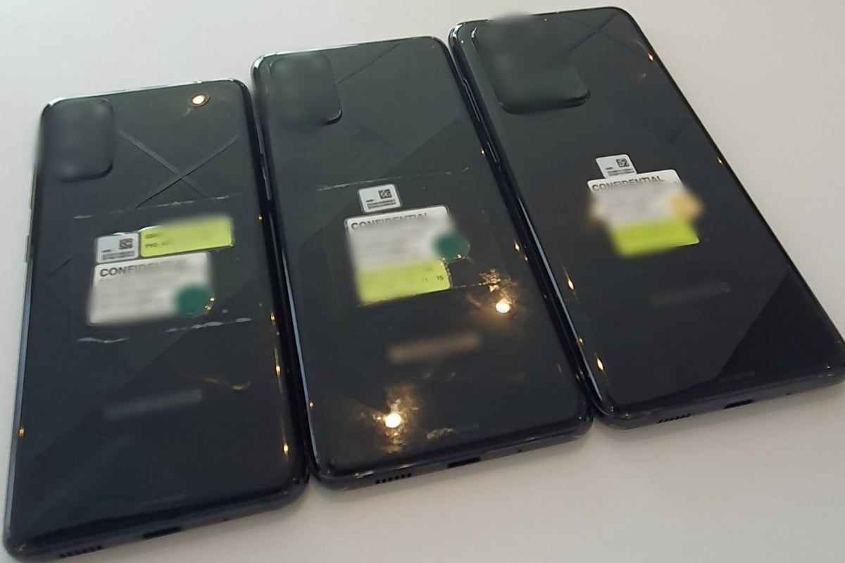 samsung galaxy s20 series back image leak twitter reframed Samsung Galaxy S20  Samsung Galaxy S20 Ultra  Samsung Galaxy S20 Plus