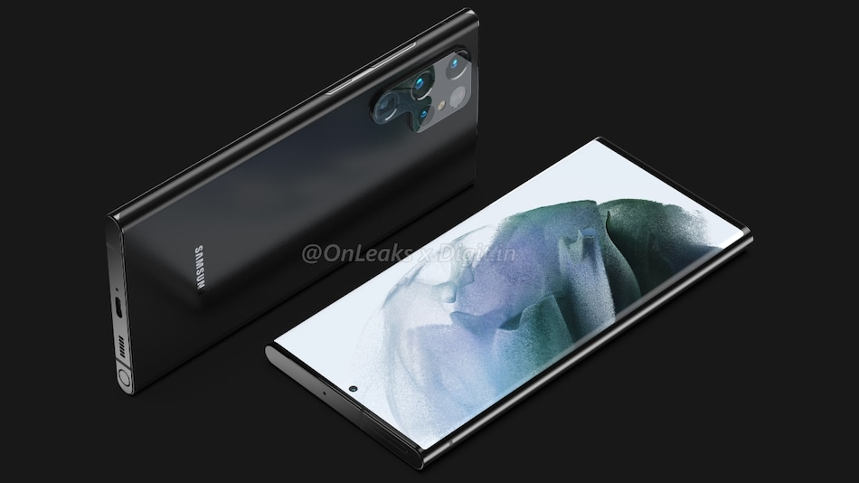 Samsung Galaxy S22 Ultra May Come With Galaxy Note-Like S Pen Integration and Curved Display, Renders Suggest