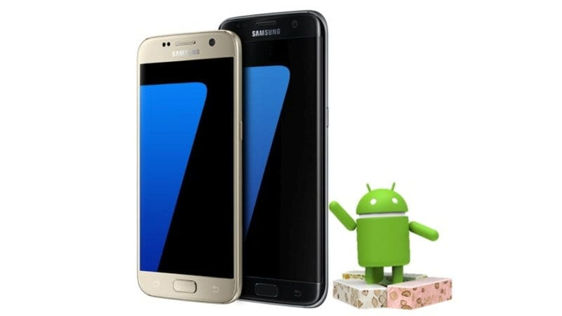 S7 Edge Android 7.1