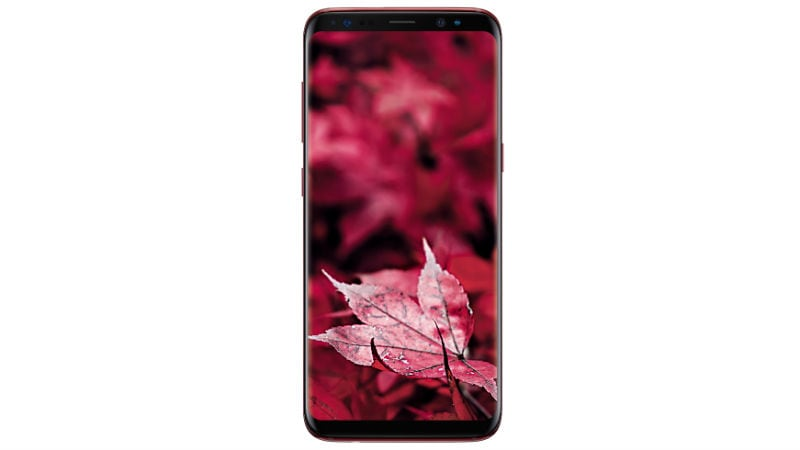 Samsung Galaxy S8 Burgundy Red Colour Variant Launched in India: Price, Specifications