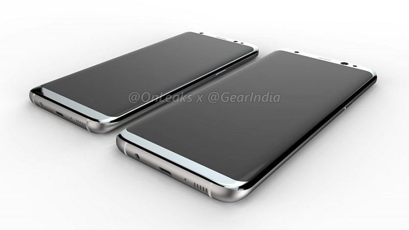 Samsung Galaxy S8, Galaxy S8 Plus Leaked Renders Hint at Bezel-Less Design and More