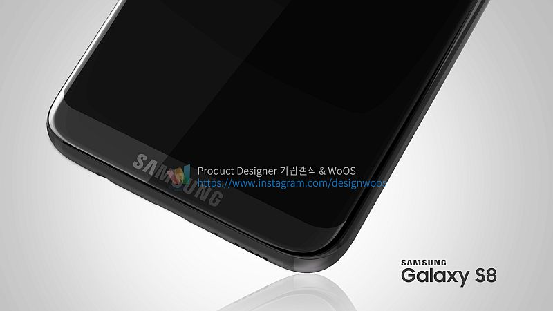 Samsung Galaxy S8 Again Leaked in Live Image; Hints at Design Overhaul, Dual Cameras