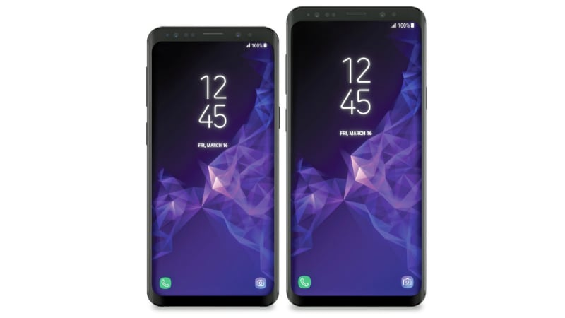 Samsung Galaxy S9, Galaxy S9+ Renders Leaked; Expected to Come With Intelligent Scan Technology