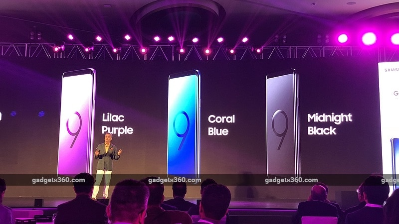 samsung galaxy s9 india launch colours gadgets360 samsung