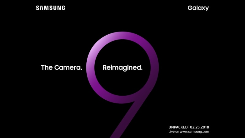 Samsung Galaxy S9, Galaxy S9+ Launch Set for February 25 Ahead of MWC 2018