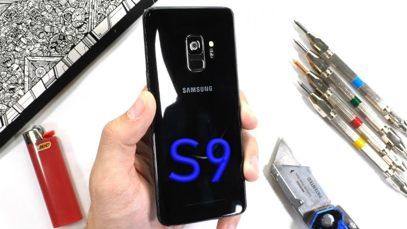 Samsung Galaxy S9 Seen to Pass Scratch, Burn, and Bend Tests With Solid Results