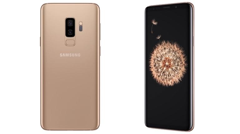 Samsung Galaxy S9+ के सनराइज़ गोल्ड वेरिएंट की बिक्री भारत में आज से