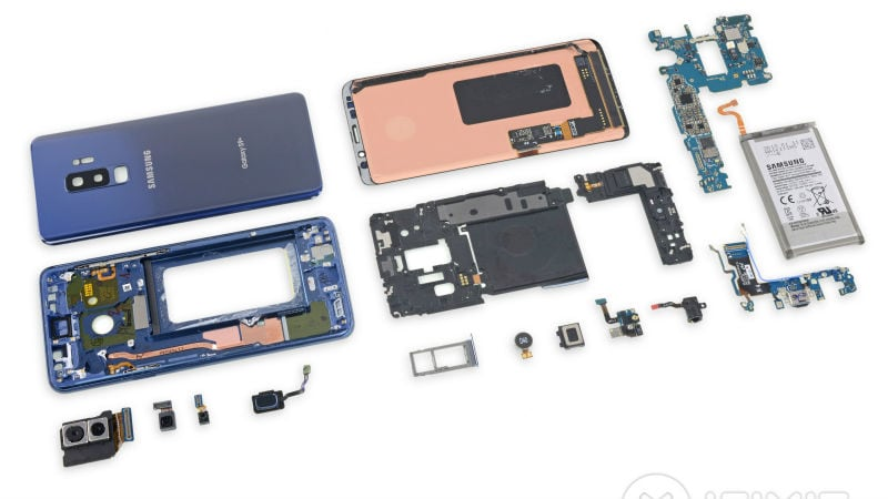 Galaxy S9, Galaxy S9+ Get Low Repairability Score in iFixit Teardown