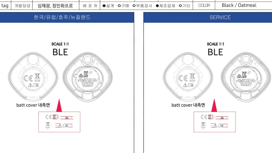 Samsung Galaxy Smart Tag Features, Expected Price Emerge Online; Will Be Offered in Two Colour Options