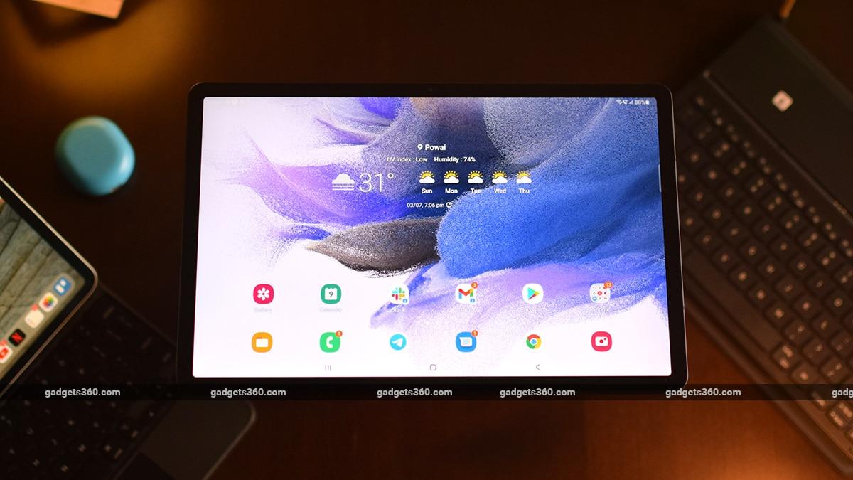 10,090mAh बैटरी से लैस Samsung Galaxy Tab S7 FE Wi-Fi वेरिएंट जल्द होगा भारत में लॉन्च