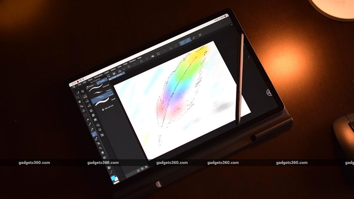 samsung galaxy tab s7 fe review studio pro gadgets 360 ww
