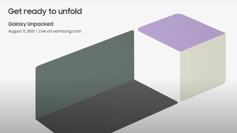 Galaxy Unpacked August 2021 occasion trailer prods Galaxy Z Fold 3 plan