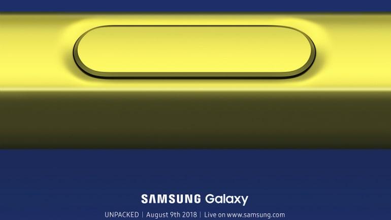 Samsung Galaxy Note 9 से 9 अगस्त को उठेगा पर्दा