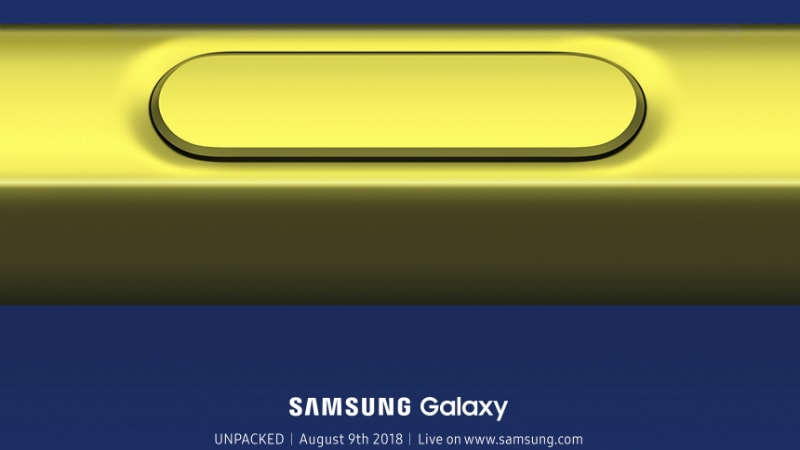 Samsung Galaxy Note 9 Launch Set for August 9, Galaxy Tab S4 Passes US FCC
