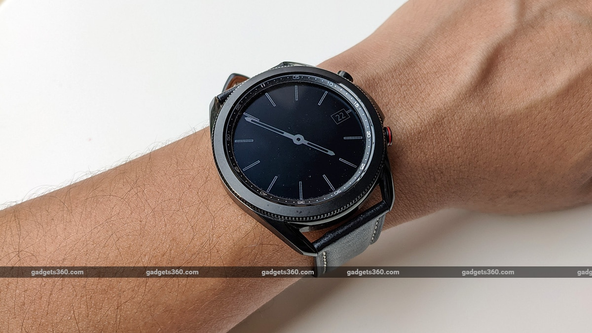 samsung galaxy watch 3 lte review wrist AOD ss