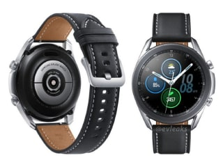 Samsung Galaxy Watch 3 New Render Leak Tips Heart Rate Sensor, Stainless Steel Casing