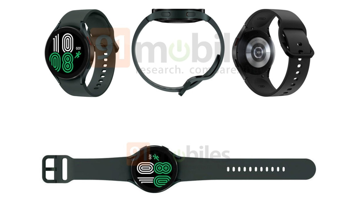 samsung galaxy watch 4 renders leak 91 mobiles Samsung Galaxy Watch 4