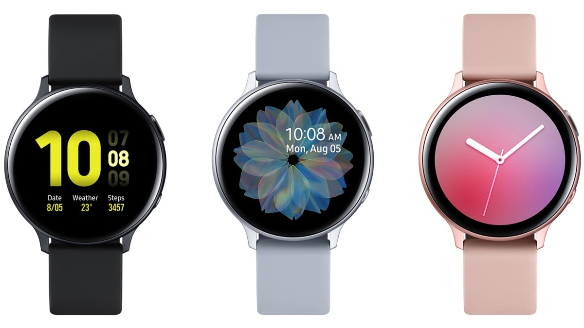 Samsung Galaxy Watch Active 2 Launched With Touch Sensitive Bezels, Voice Calling Support