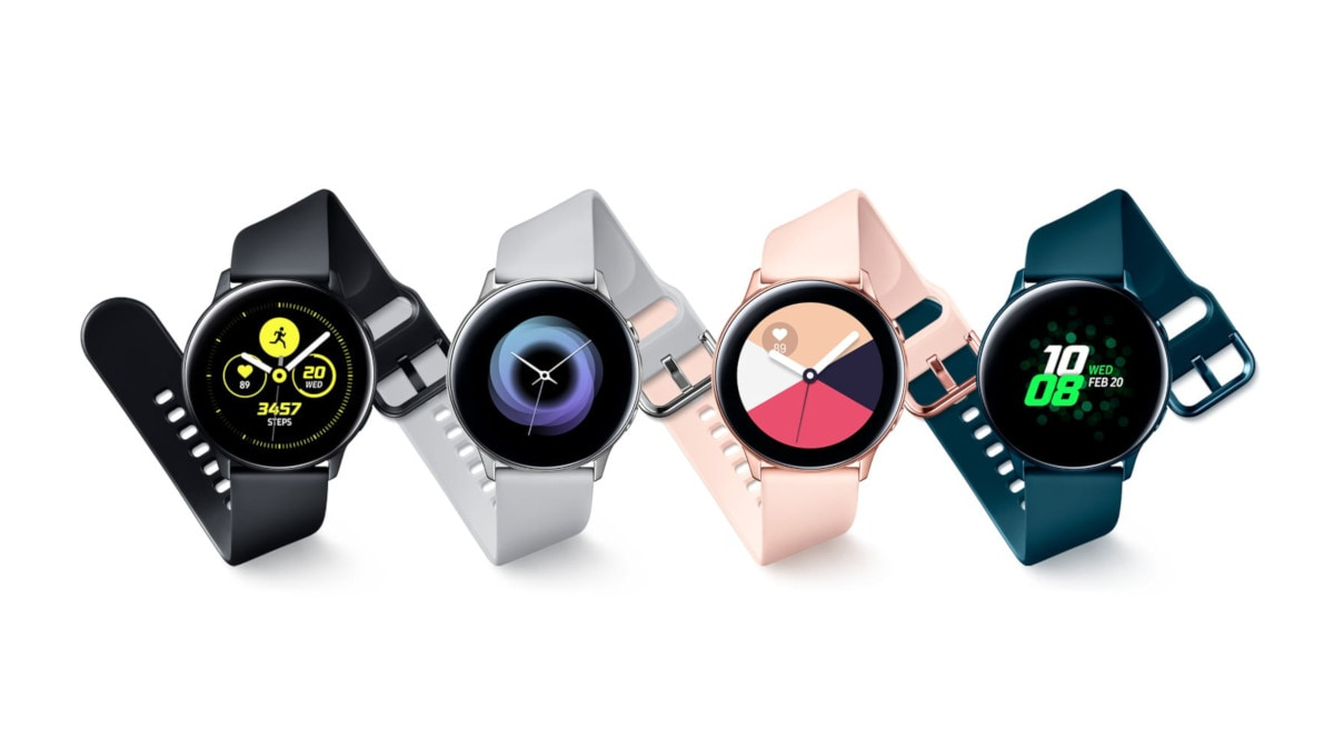 Samsung Galaxy Watch Active With Circular AMOLED Screen