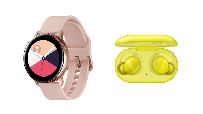 Samsung Galaxy Watch Active, Galaxy Buds Leak Just Ahead of Unpacked 2019 Event