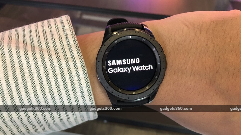 Samsung Galaxy Watch With Tizen-Based OS, Always On Display Launched
