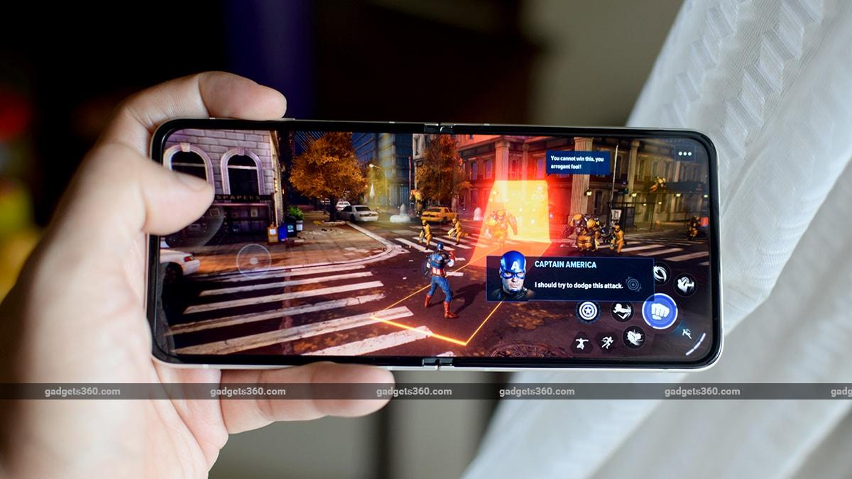 samsung galaxy z flip 3 review game gadgets 360 ww