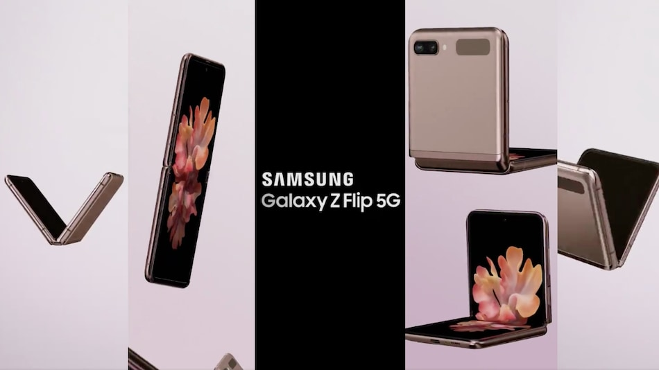 Samsung Galaxy Z Flip 5G Video Promo Leak Showcases It From All Sides Ahead of Launch