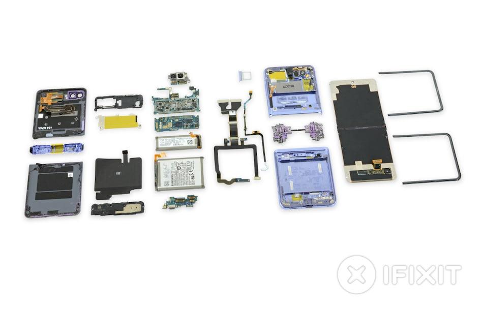 Samsung Galaxy Z Flip Fails Dust Test Miserably in iFixit Teardown Video