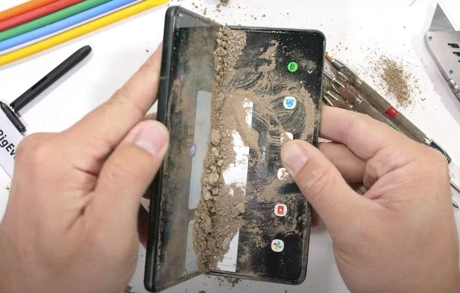 Samsung Galaxy Z Fold 3 Gets Scratches in JerryRigEverything Durability Test