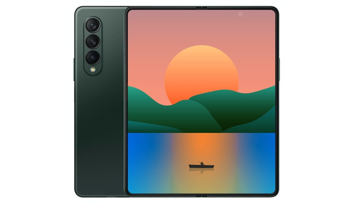 Samsung Galaxy Z Fold 3 Render Suggests Under-Display Selfie Camera Ahead of Official Launch