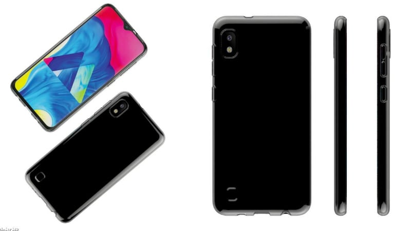 Samsung Galaxy A10 Renders Leak, Fingerprint Scanner Missing