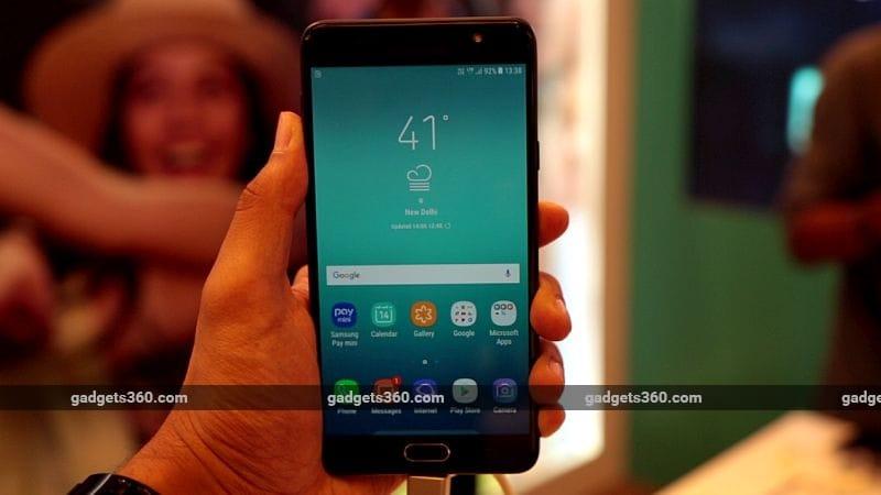 Samsung Galaxy J7 Pro, Galaxy J7 Max First Impressions