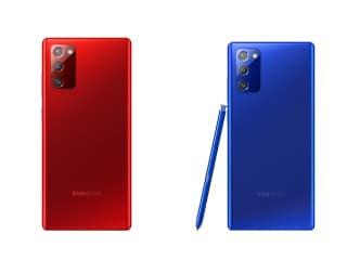 Samsung Galaxy Note 20 Getting Red, Blue Colour Variants in South Korea, Pink Variant Leaked Online