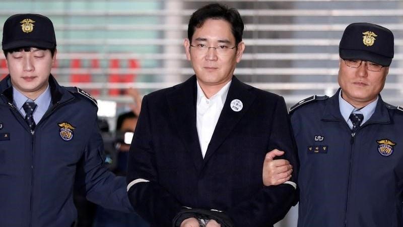 Samsung Heir Lee Jae-Yong Released From Prison on Appeal