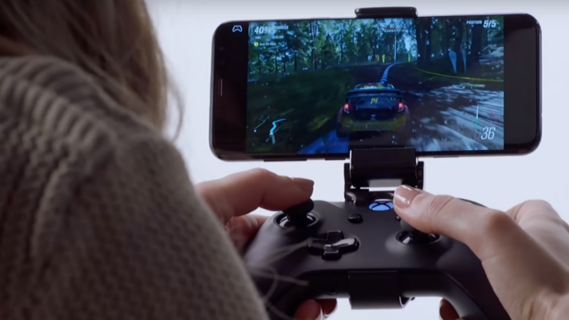 Microsoft demos Project xCloud with Forza Horizon 4 on phone