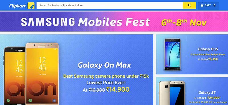 6755a6e88dc Samsung Galaxy S7 at Rs. 29