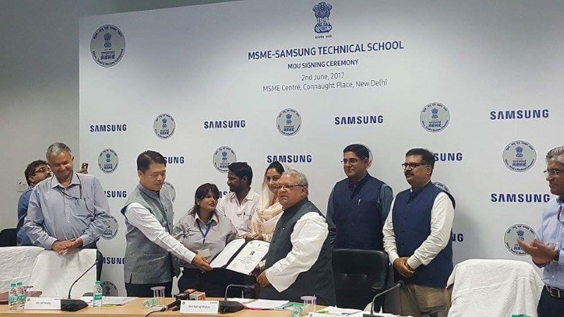 Samsung Partners MSME Ministry to Open New Technical Training Schools