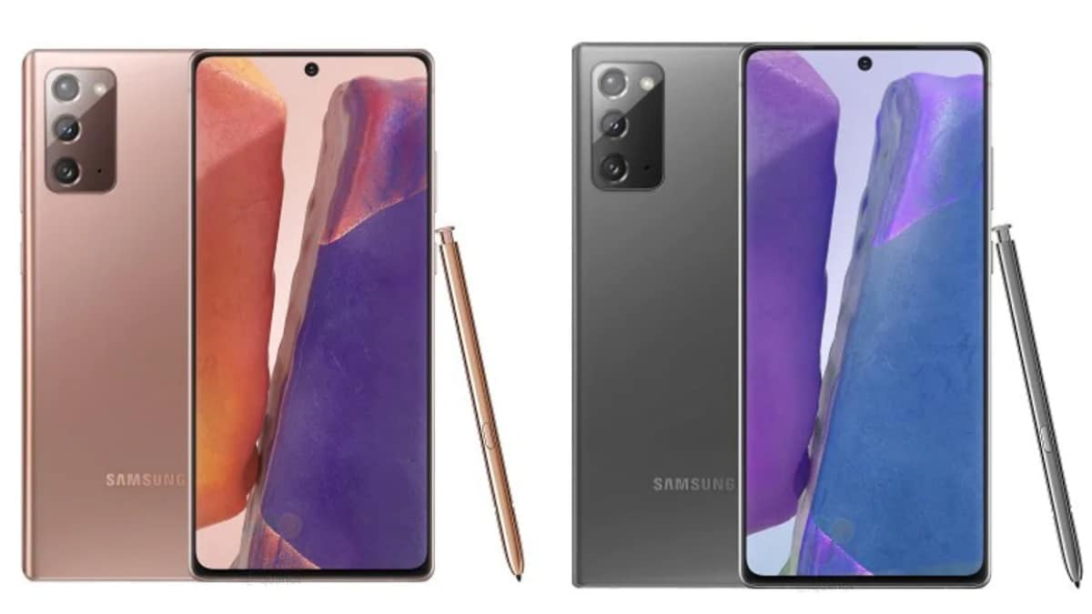 We have new case renders of the Samsung Galaxy Note 20