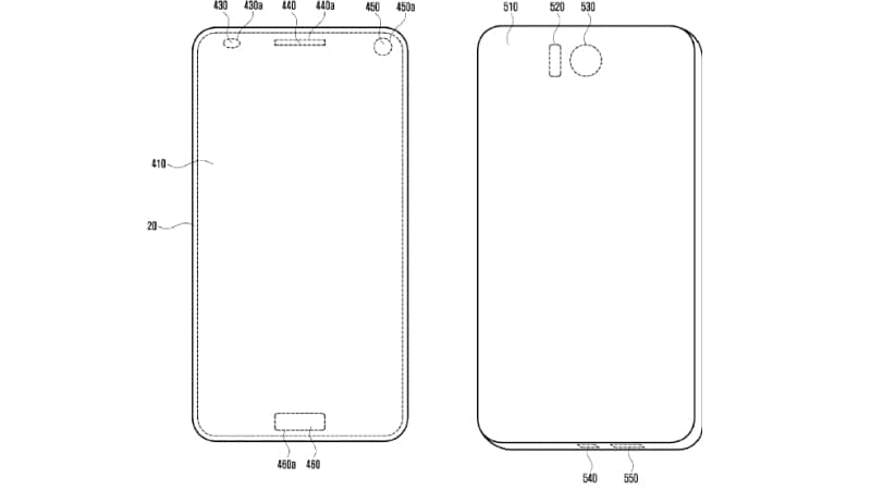 Samsung Patent Details Holes Under Display for Front Cameras; Expected on the Galaxy Note 9