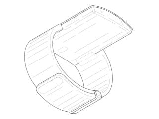 Samsung Wearable With Extended Curved Display Spotted in Patent Filing