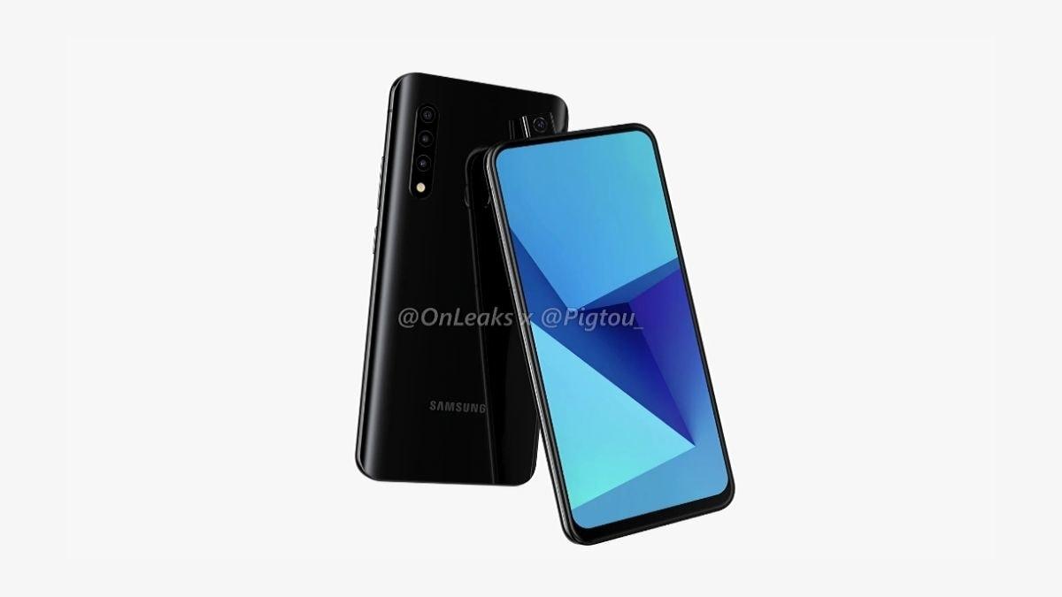 Samsung hoạt động trên điện thoại chụp ảnh selfie với camera ba phía sau: Báo cáo 1