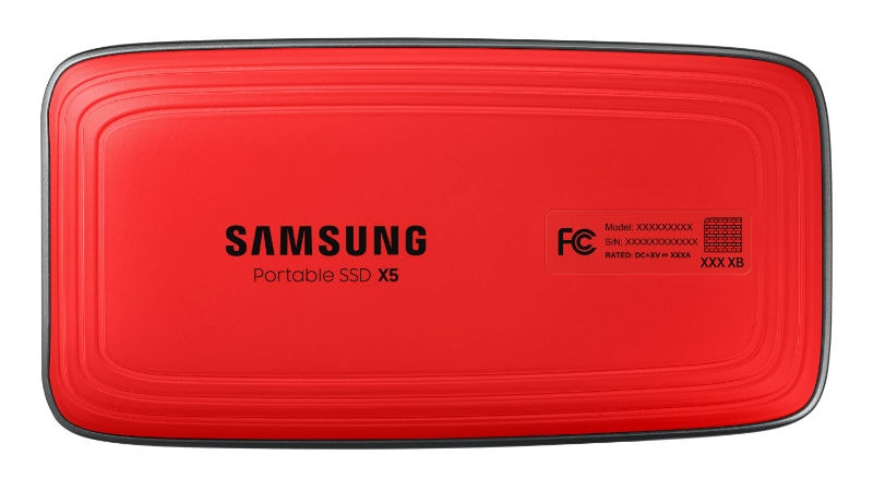 Samsung Portable SSD X5 With Thunderbolt 3 and NVMe Launched