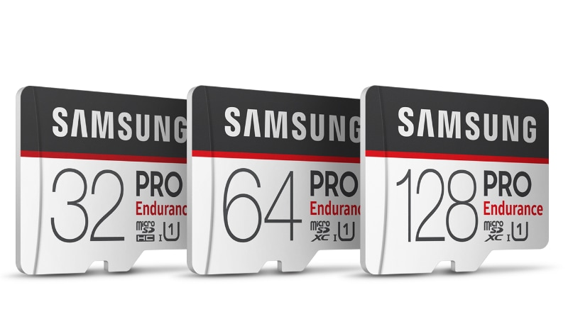 Samsung launches PRO Endurance microSD card for 43800 hours continuous video