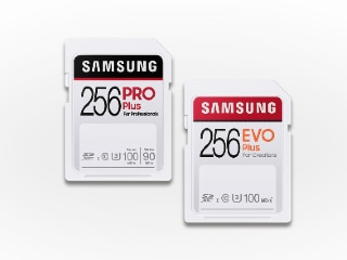 Samsung Pro Plus, Evo Plus SD Cards Launched in Four Storage Denominations