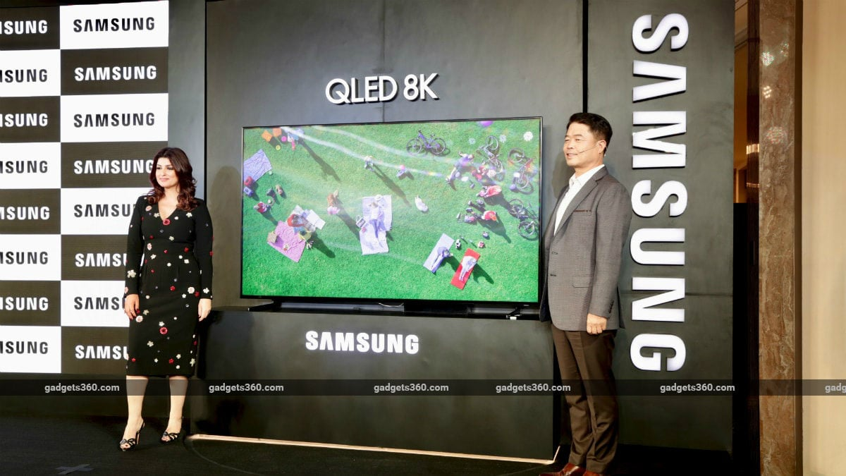 Samsung Launches 'World's First QLED 8K TV' in India, Starting at Rs