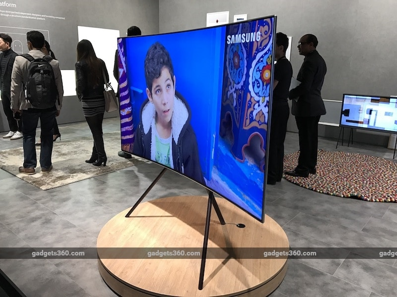 Samsung Launches New Range of QLED TVs in India, Starting Rs. 3,14,900