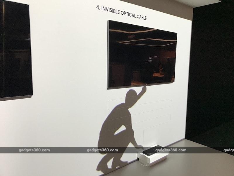 samsung qled tv display gadgets360 samsung
