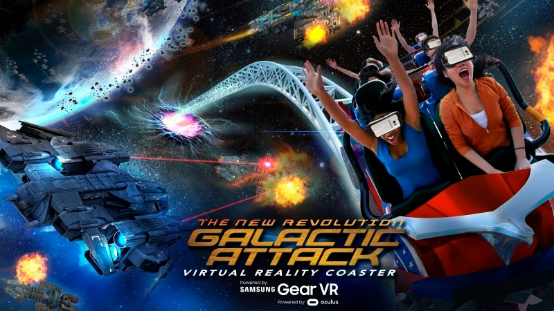 Samsung, Six Flags Partner on Mixed Reality Roller Coaster Experience