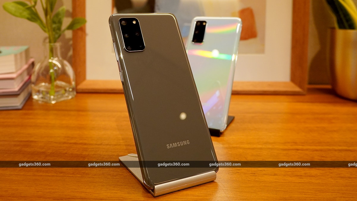 Samsung Galaxy S20+ Gets Its First Update in India, Brings March Security Patch, Camera Improvements