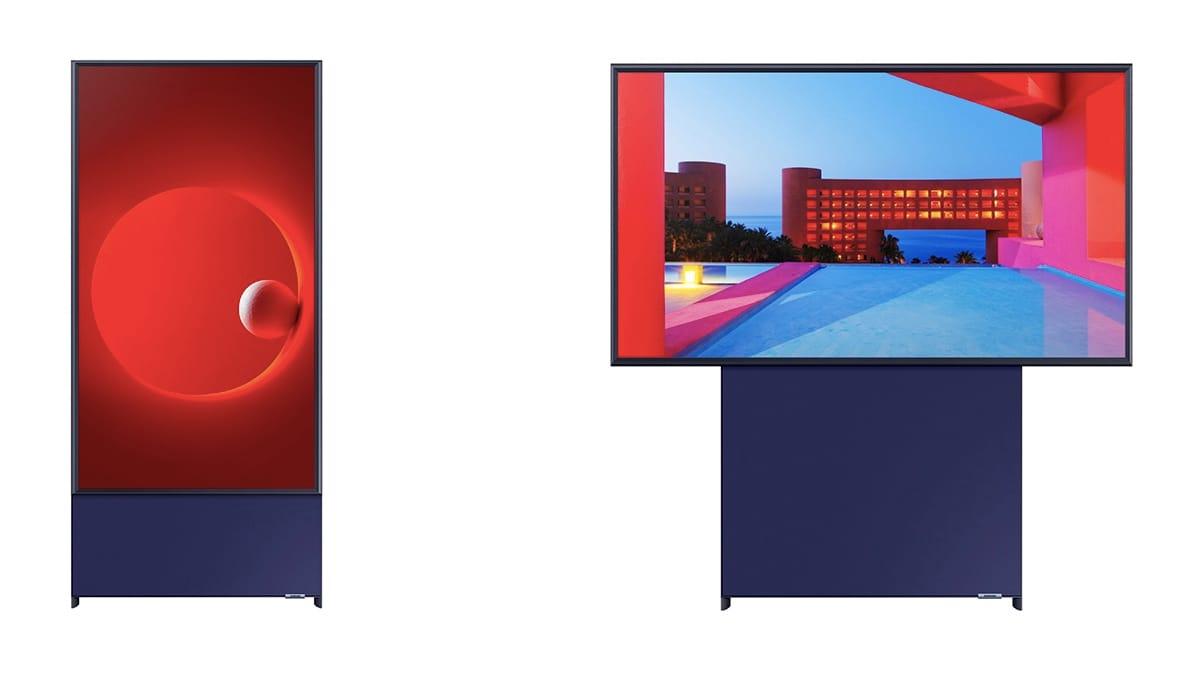 samsung sero vertical tv main